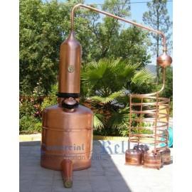 Alambique de columna 1000 litros