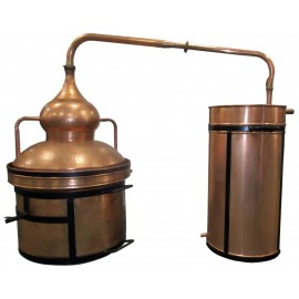 Alambique cierre de agua 200 litros
