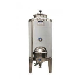 Cuba 350 litros de cierre hermetico con puerta lateral