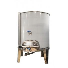 Cuba 500 litros siempre llena con puerta lateral