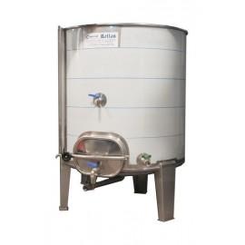 Cuba 700 litros siempre llena con puerta lateral