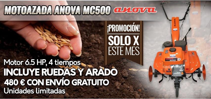 Comercial Rellán - Motoazada ANOVA MC500